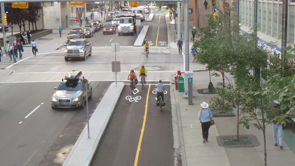 7th Street SW Cycle Track