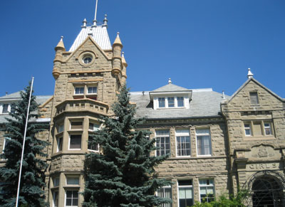 Calgary Collegiate Institute, one of Calgary's first sandstone schools