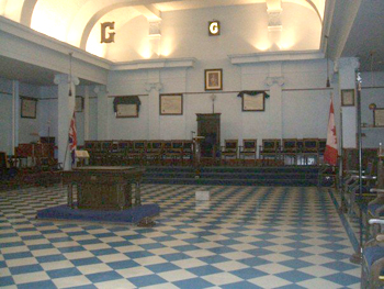 The Blue Lodge Room