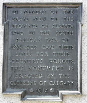 Plaque on the SAWM