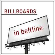 Billboards in Beltline