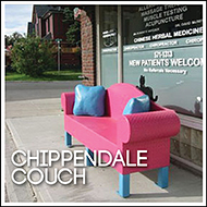 Public Art: Chippendale Couch
