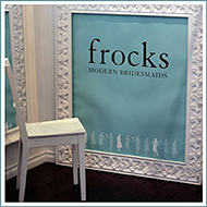 frocks modern bridesmaids