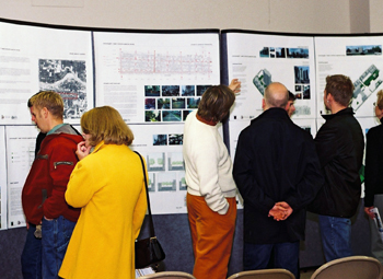 Attendees of the Blueprint for the Beltline Open House