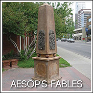 Public Art: Aespop's Fables