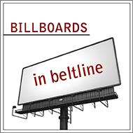 Billboards in Beltline