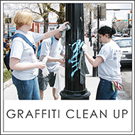 graffiti cleanup