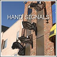 Public Art: Hand Signals