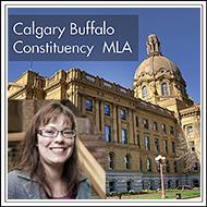 Kathleen Ganley Calgary Buffalo MLA