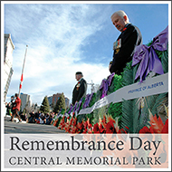 remembrance day at cmp